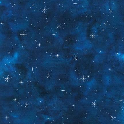 Midnight Blue with Stars