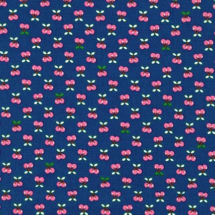 Tiny, Happy, Lucky ACK-16923-9 NAVY by Cynthia  Frenette
