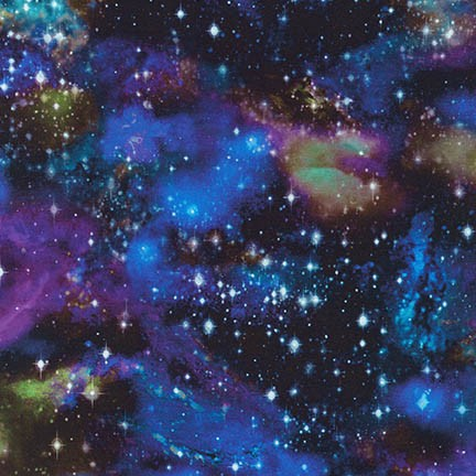 Stratosphere Stargazers Digital ADSD-18262-348 Robert Kaufman Fabrics
