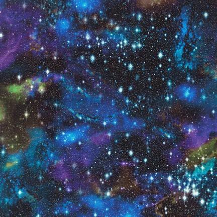 CELESTIAL Stargazer Fabric by the Yard