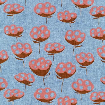 Driftless Linen/Cotton Canvas - Cadet