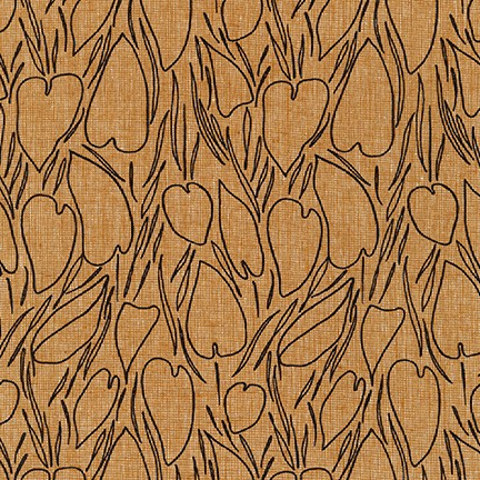 Roasted Pecan from the Driftless Collection by Anna Graham AFH-19017-408