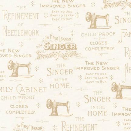 Singer - AGZ-17848-15 IVORY