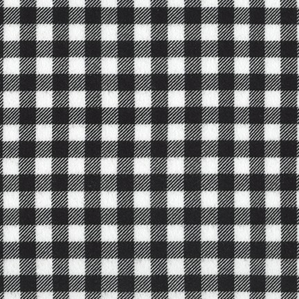 Burly Beavers Flannel- Black and White