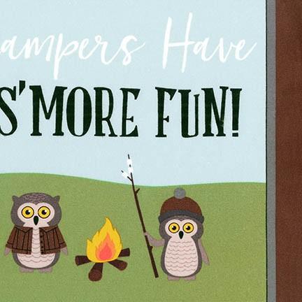 Campsite Critters - Nature - Flannel