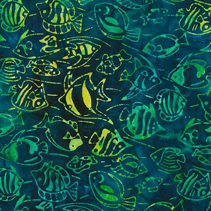 Lunn Studios Totally Tropical Carribean Turtles