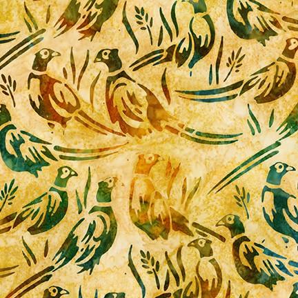 Artisan Batiks: Wildlife Sanctuary 6 GOLD