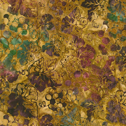 Kaufman Batik - Impressions of Tuscany 2 - Harvest Grapes