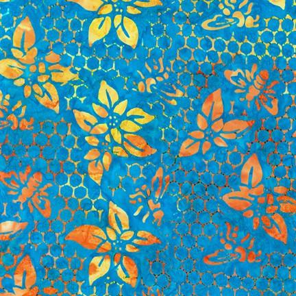 Blue Summer Zest Batik