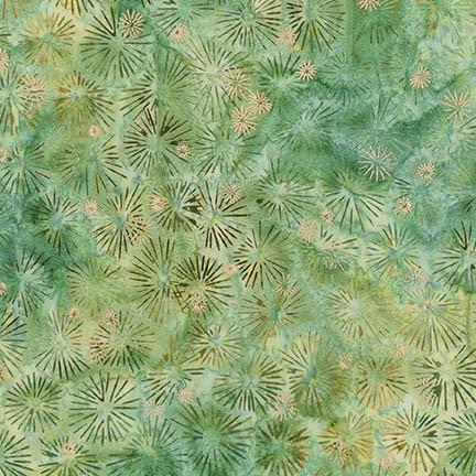 Pine Batik W/ Metallic - Northwoods 7