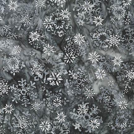 Snowflakes 2 AMDM-16843-186 Silver