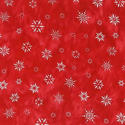 Snowflakes 2 AMDM-16845-3 Red
