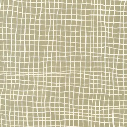 AMY 17149 162 ECRU by Malka Dubrawsky for Robert Kaufman Fabrics. 100% cotton 43 wide