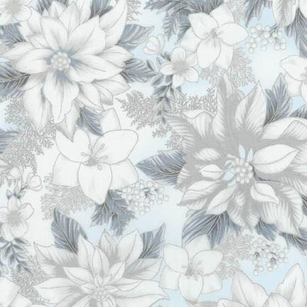 Holiday Flourish 17336 4 BLUE