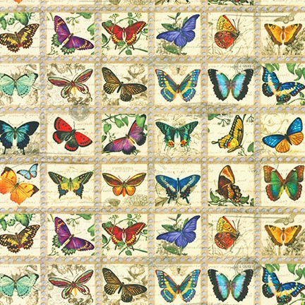 WEB ONLY - Library of Rarities Stamps - Butterflies