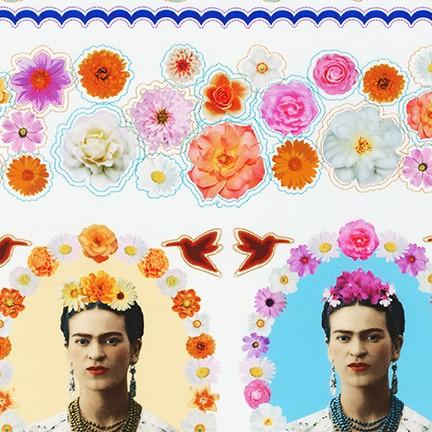 Frida Kahlo White Border Print