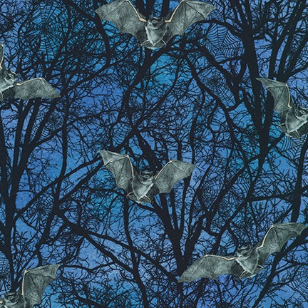 Raven Moon - Spooky - 19487//282 - 1pc - 1m/39.5in