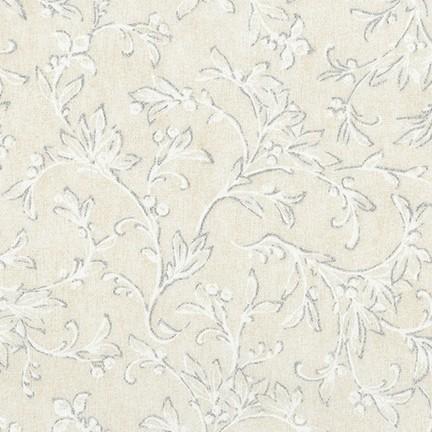 Winter White Tonal in Linen by Robert Kaufman Fabrics