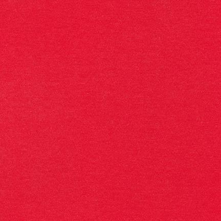 Knit Solids : Dana Modal - Signal Red