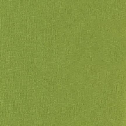 Robert Kaufman Essex Cotton/Linen Blend in Lime