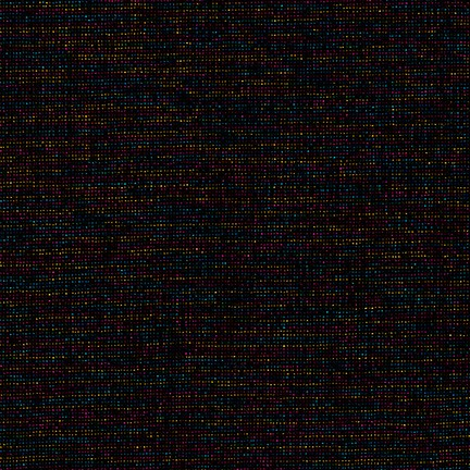 Robert Kaufman Essex Yarn Dyed Linen - Rainbow (Metallic)