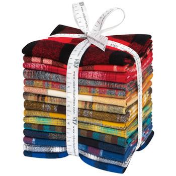 Fat Quarter Bundles: Mammoth Flannel - Rainbow