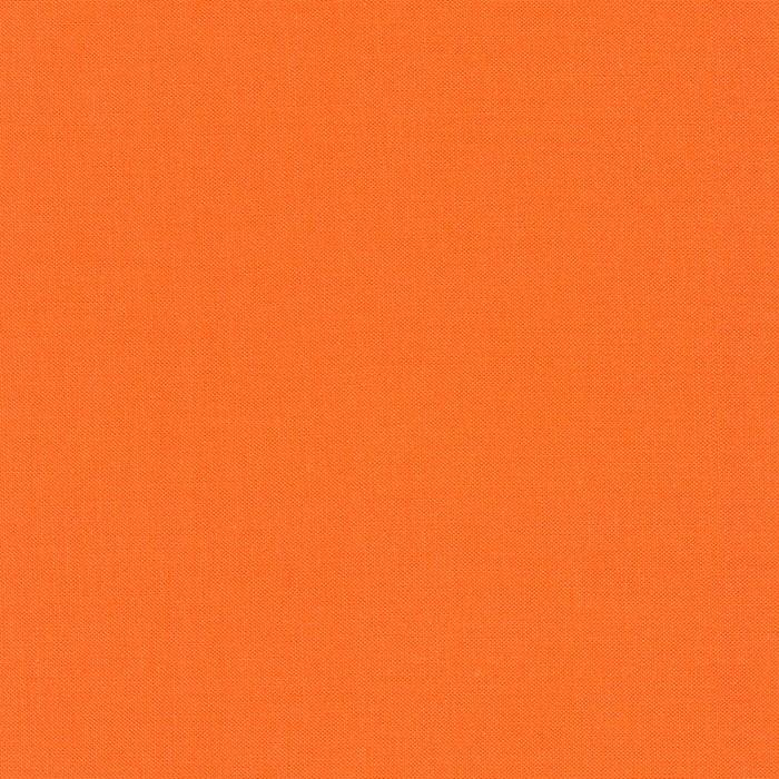 Kona Cotton - Carrot K001-400 - by Robert Kaufman