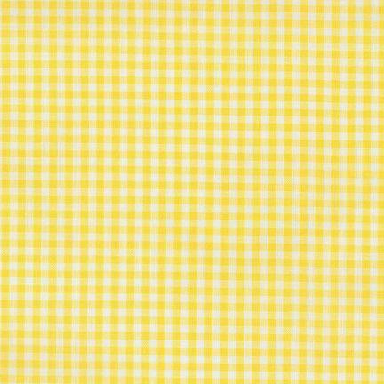 Gingham Carolina Yellow - 1/8-inch, P-5689-14