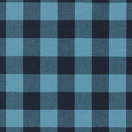Carolina Gingham 1 Inch Indigo