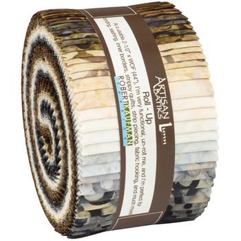 Fabrics: PrecutsRoll Ups: Artisan Batiks: Rings and Dots