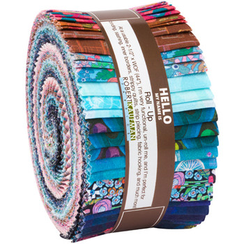 Fabrics: PrecutsRoll Ups: Happy Place