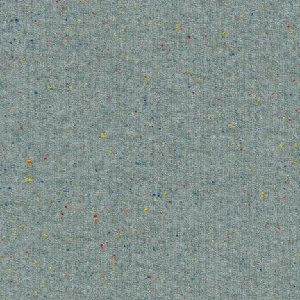 Speckle Cotton Jersey Charcoal