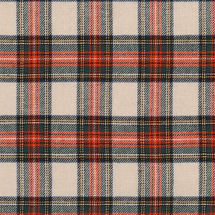 Sevenberry Classic Plaid Twill Red