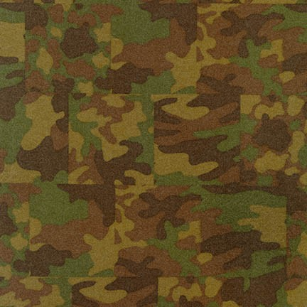 Camouflage Flannel OLIVE