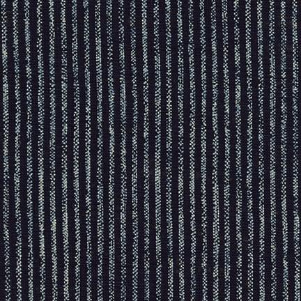Sevenberry: Nara Homespun Stripes INDIGO