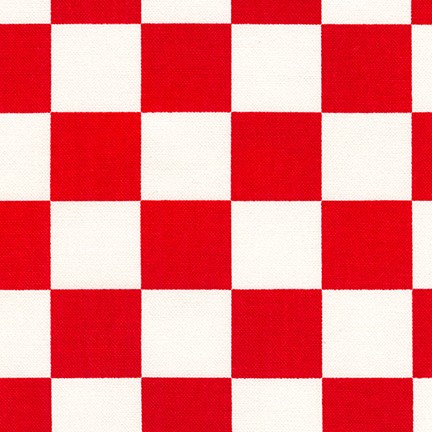 Sevenberry Canvas Prints 3 Red Checkerboard