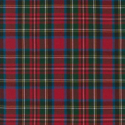 House of Wales Plaid - Red/Green/Blue