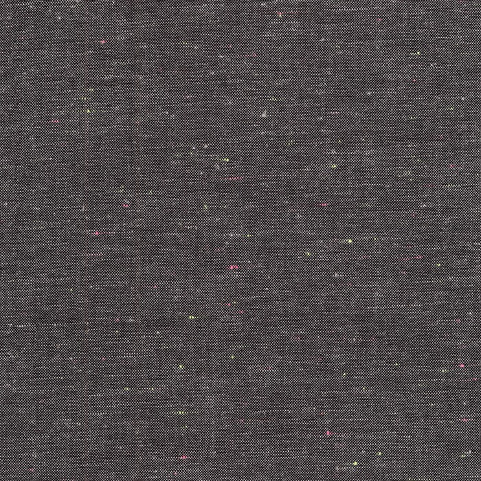 Chambray : Neon Neppy (Charcoal)