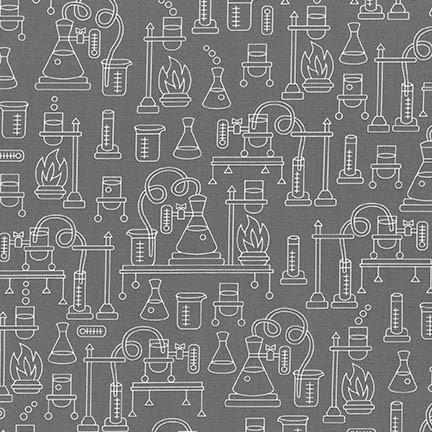 Grey Science Fair 2 SRK-17929-12 Robert Kaufman Fabrics