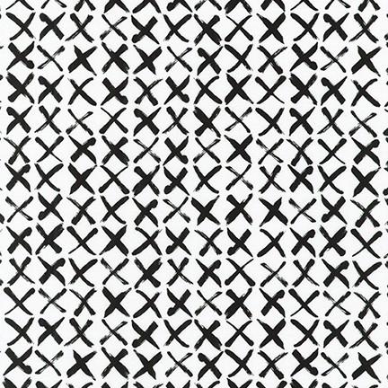 Pen & Ink: X's - Black on White