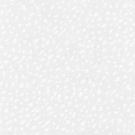 Pen & Ink: Brushstrokes - White on White