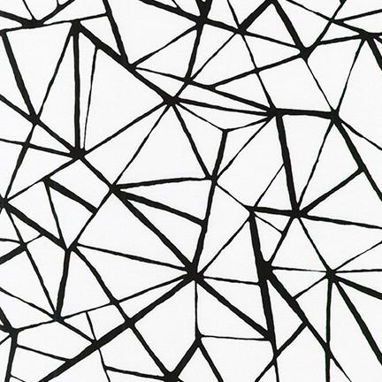 Pen & Ink: Grid - Black on White