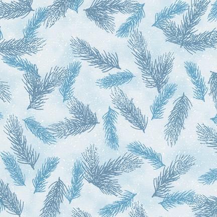 First Snow - Pine Needles - Winter