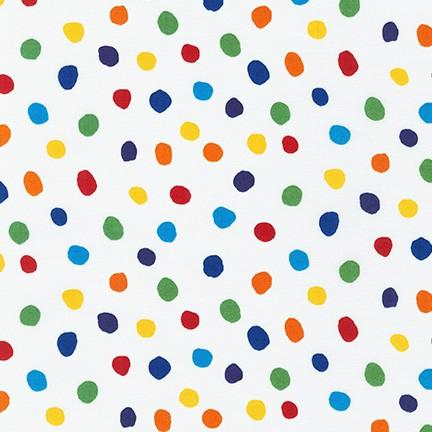 Dot and Stripe Delights Rainbow SRK-19935-263 Robert Kaufman