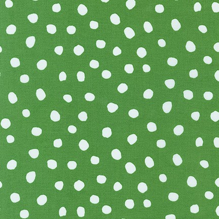 Dot and Stripe Delights Green SRK-19935-7 Robert Kaufman