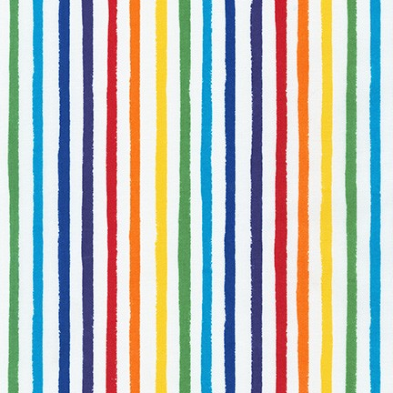 Dot and Stripe Delights - Rainbow