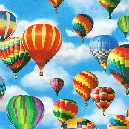 Everyday Favorites Hot Air Balloon large Sky