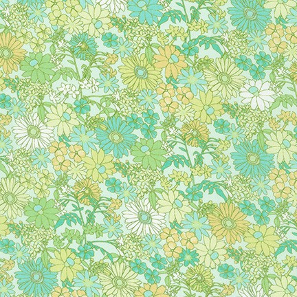 Lawn Print : London Calling (Sweet Pea)
