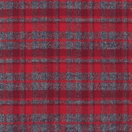 MAMMOTH FLANNEL - PLAID - RED - SRKF-13927-3