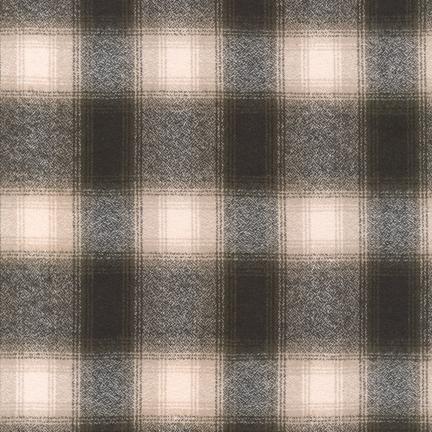 MAMMOTH FLANNEL - PLAID -GREEN - SRKF-13933-7